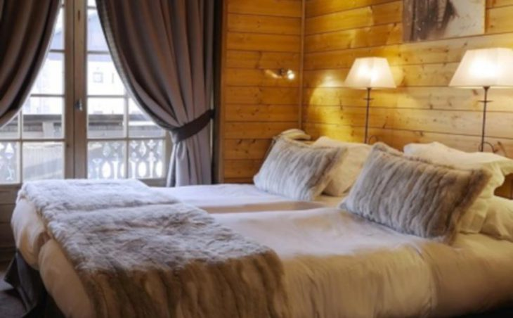 La Grange d'Arly, Megeve, Twin Bedroom
