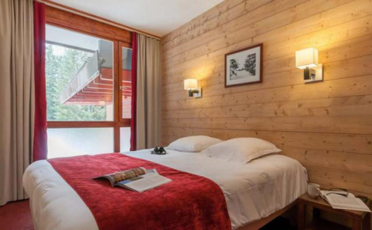 Le Belmont, Les Arcs, Double Bedroom 2