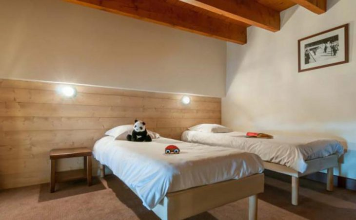 Le Belmont, Les Arcs, Twin Bedroom 2