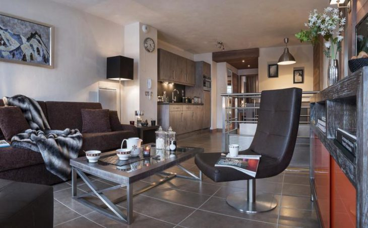 Le Centaure, Flaine, Apartment Lounge