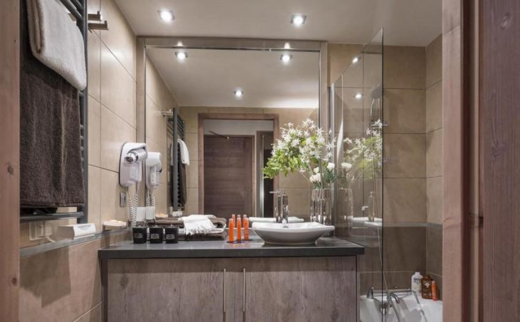 Le Centaure, Flaine, Apartment Bathroom