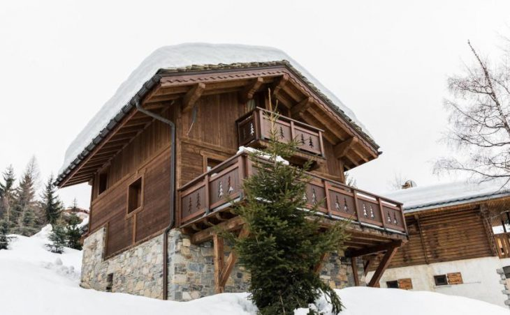Chalet Le Notus, Courchevel, External Balcony