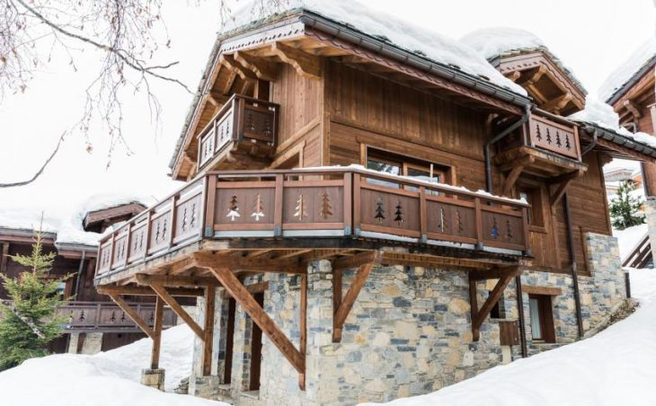 Chalet Le Notus, Courchevel, External
