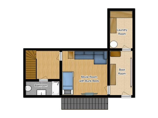 The Little Grange Morzine Floor Plan 2