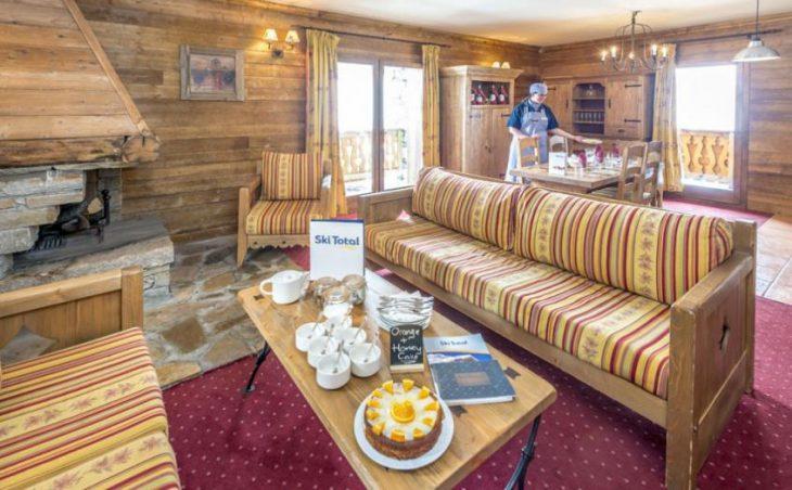 Chalet Winnie, Les Arcs, France, Lounge area