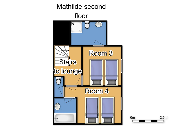Chalet Mathilde Val Thorens Floor Plan 3