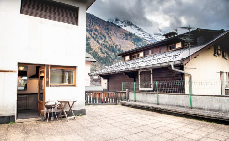 Mintaka Apartment, Chamonix, Terrace