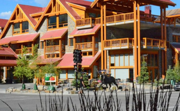 Moose Hotel & Suites, Banff, Canada, External