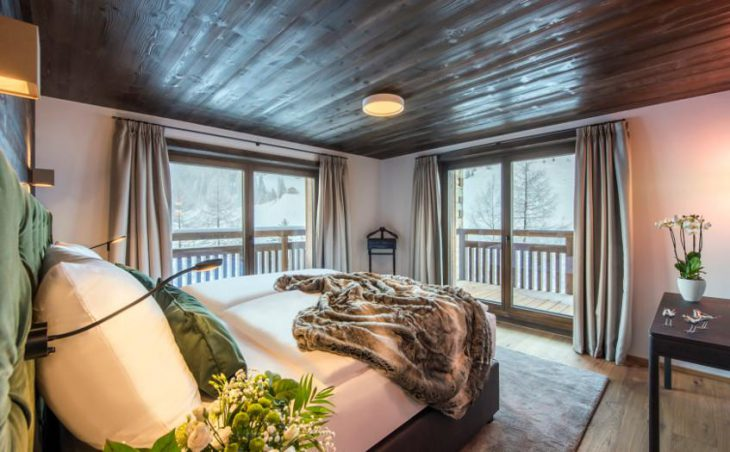 Nidus Apartment 3, Lech, Bedroom Balcony