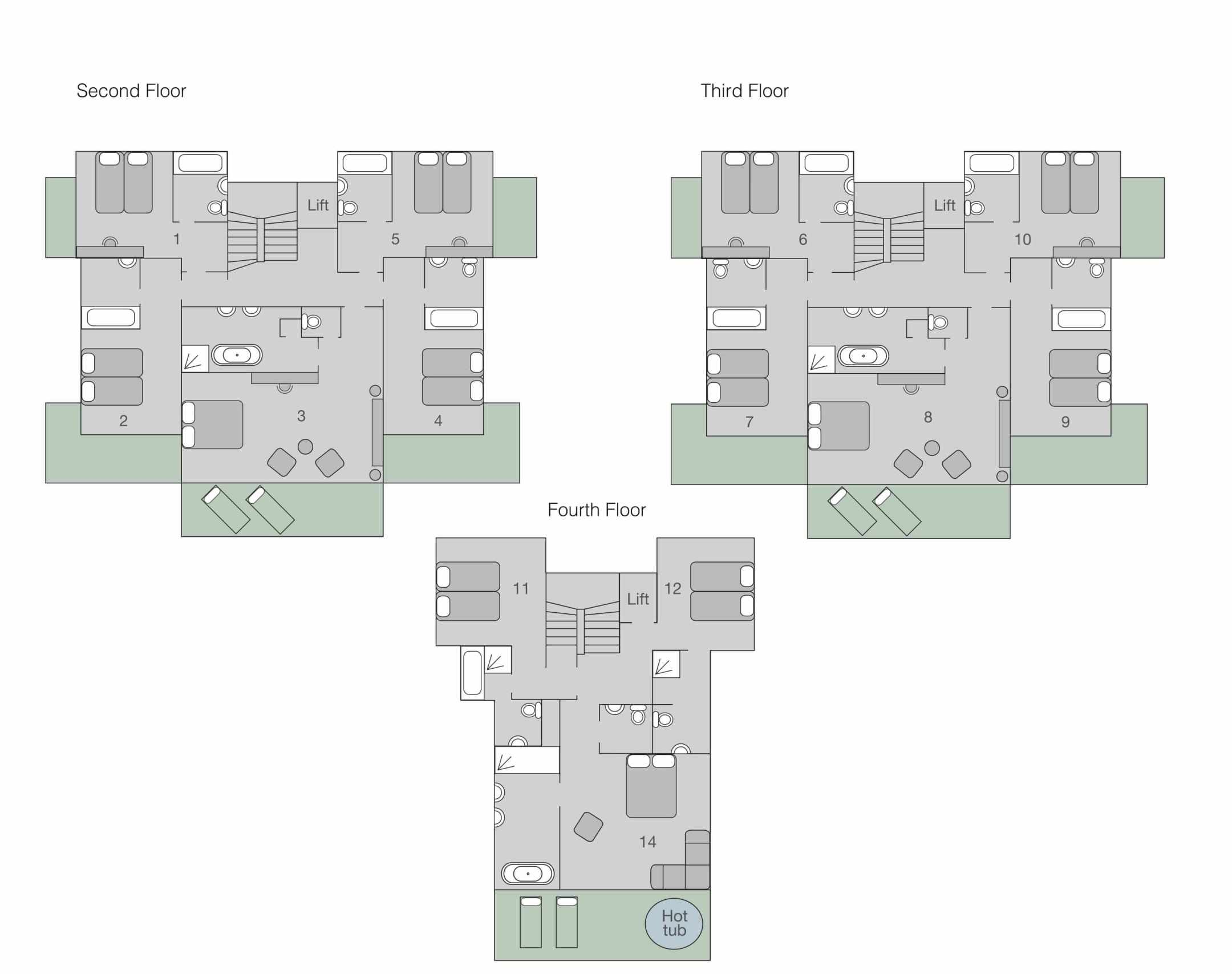 No. 14 Verbier Floor Plan 1