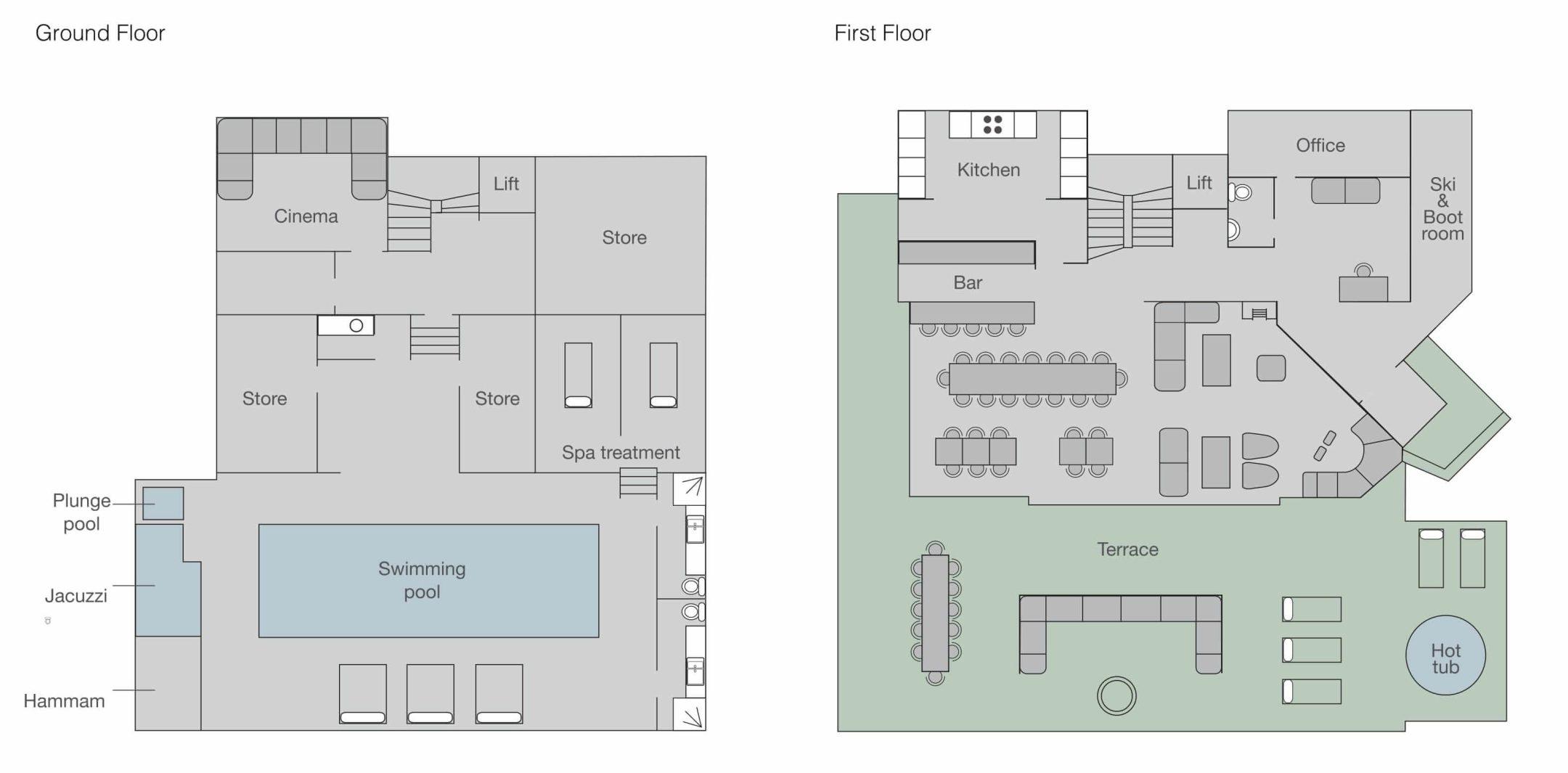 No. 14 Verbier Floor Plan 2