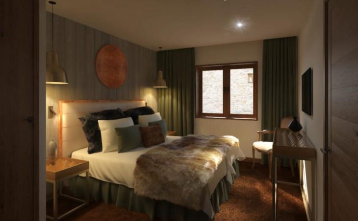 No.5 Aspen House, Val d'Isere, Double Room
