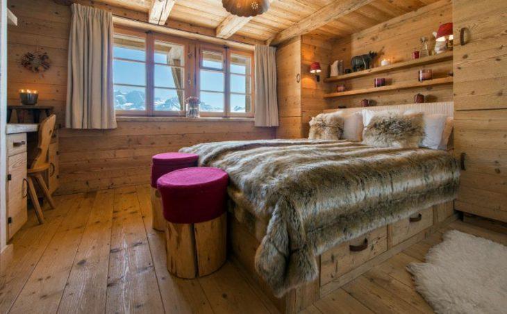 Chalet Nyumba, Verbier, Double Bedroom