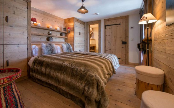 Chalet Nyumba, Verbier, Double Bed