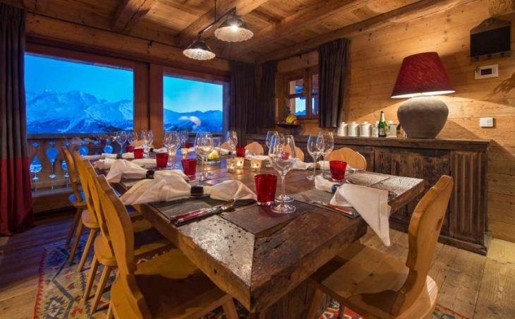 Chalet Nyumba, Verbier, Dining Room