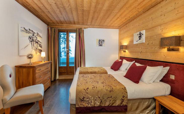 Petit Choucas, Val dIsere, Twin Room