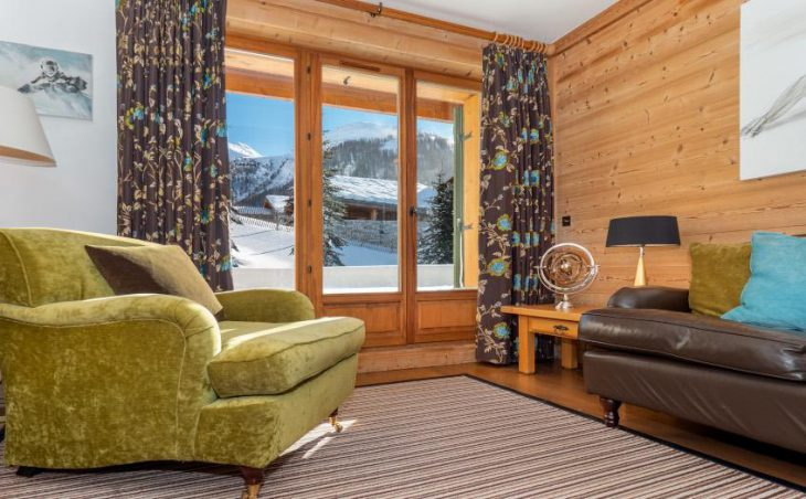 Petit Choucas, Val dIsere, Lounge Chair and Sofa