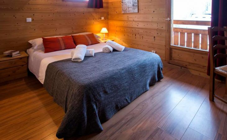 Pierra Menta 1, La Plagne, Double Bedroom 2