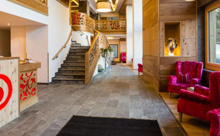 Hotel Solaria, Ischgl, Reception