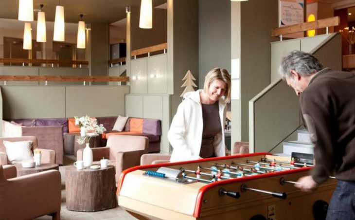 Residence La Foret, Flaine, Games Room