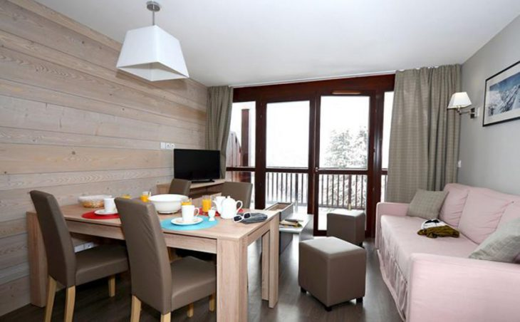 Residence Le Panoramic, Flaine, Living Area 2