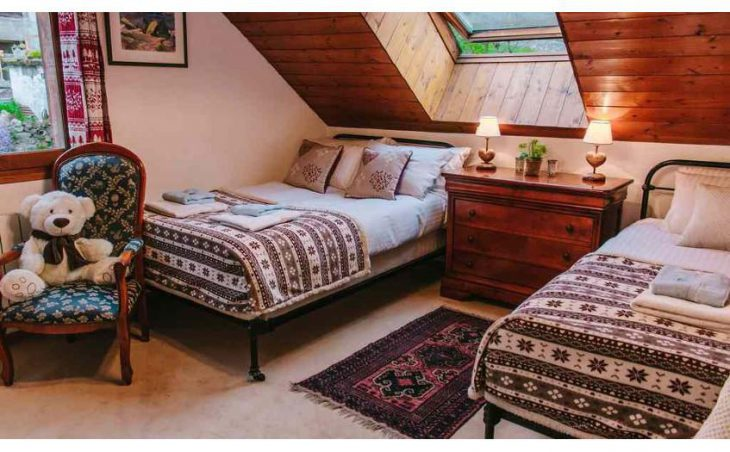 Chalet Rostaing, Alpe d'Huez, Double Bedroom 5