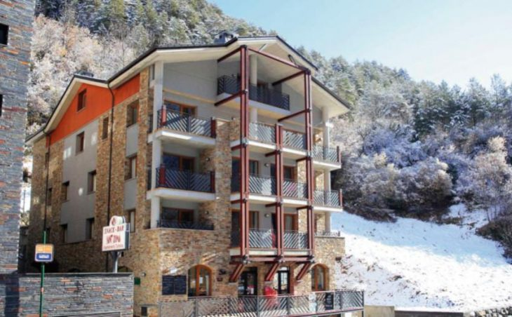 Sant Roma Apartments, Arinsal, External Snow