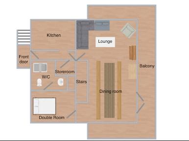 Chalet Caspar La Rosiere Floor Plan 3