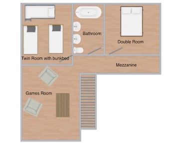 Chalet Caspar La Rosiere Floor Plan 1
