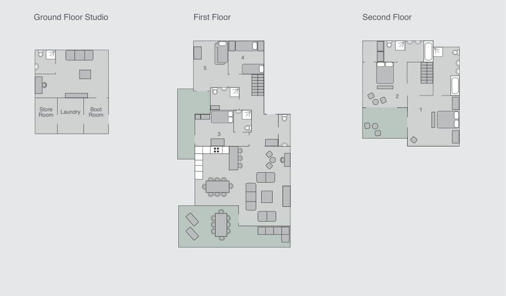 Chalet Sherwood Verbier Floor Plan 1