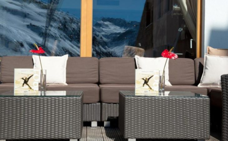 Ski Hotel Maiensee, St Christoph, Outside Lounge