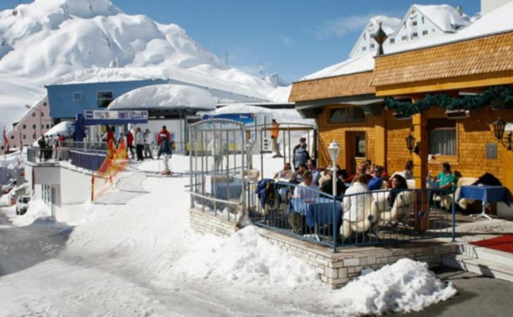 Ski Hotel Maiensee, St Christoph, External Seating
