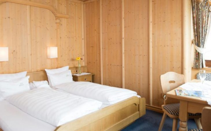 Ski Hotel Maiensee, St Christoph, Double Bedroom