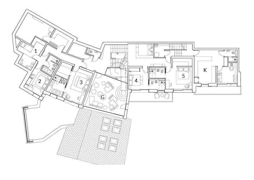 Chalet Tataali Morzine Floor Plan 2