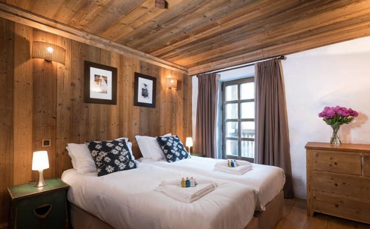 The Farmhouse, Val dIsere, Double Bedroom 5
