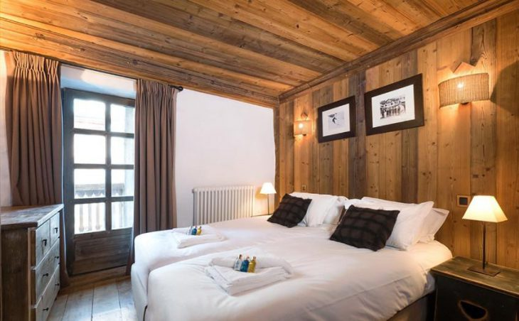 The Farmhouse, Val dIsere, Double Bedroom 2