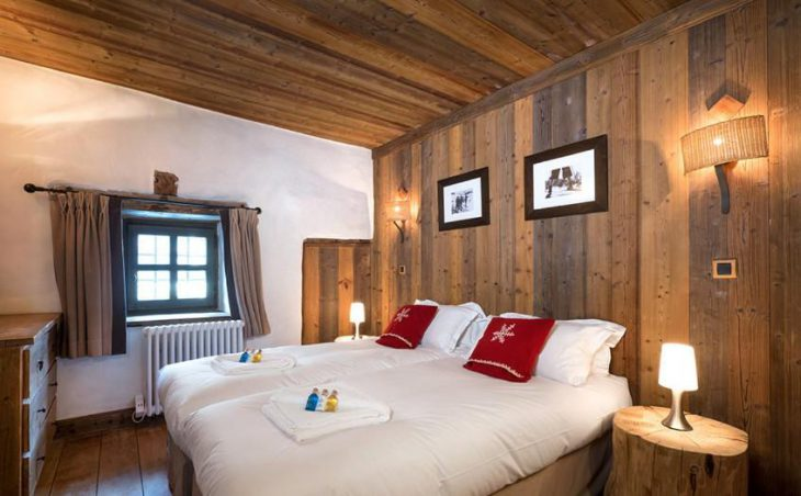 The Farmhouse, Val dIsere, Double Bedroom 3