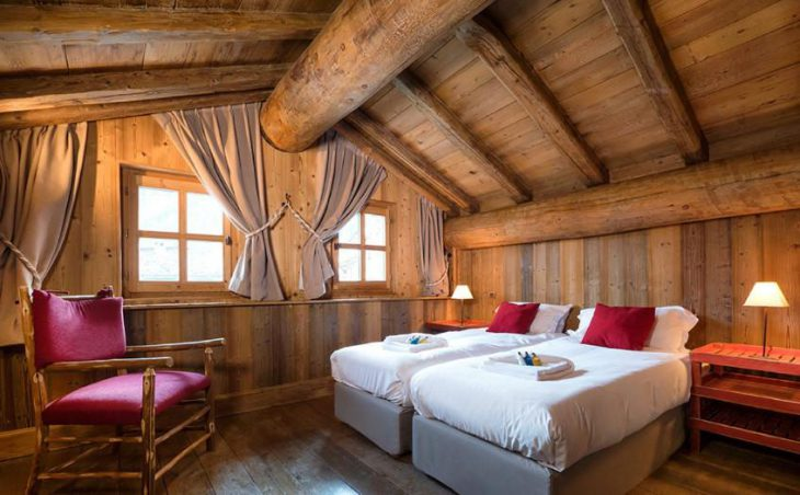 The Farmhouse, Val dIsere, Double Bedroom 4