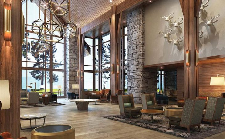 The Lodge at Edgewood Tahoe, Heavenly, Lobby
