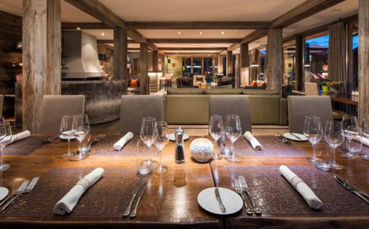 The Lodge, Verbier, Dining Area