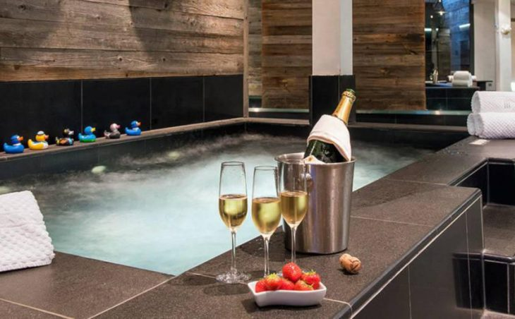 The Lodge, Verbier, Hot Tub
