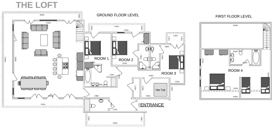 The Loft Courchevel Floor Plan 1