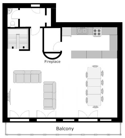 The North Face Ste-Foy-Tarentaise Floor Plan 4