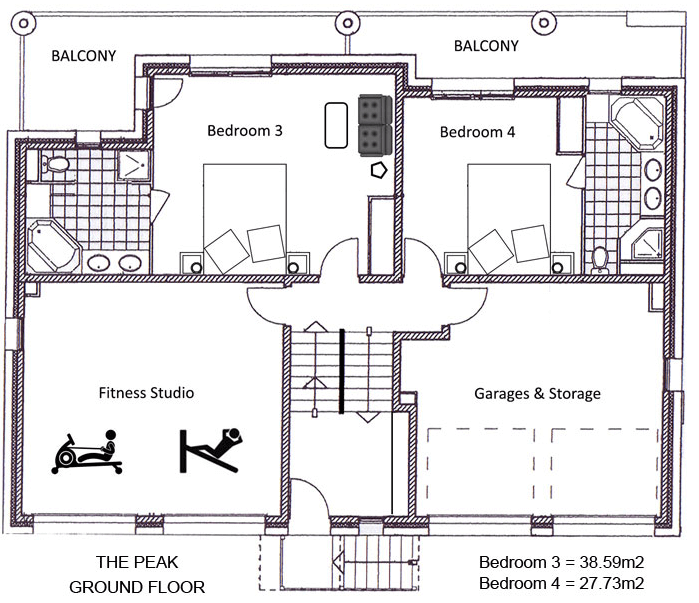 The Peak Ste-Foy-Tarentaise Floor Plan 2