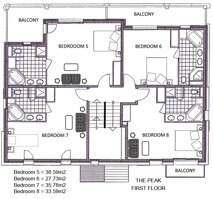 The Peak Ste-Foy-Tarentaise Floor Plan 3