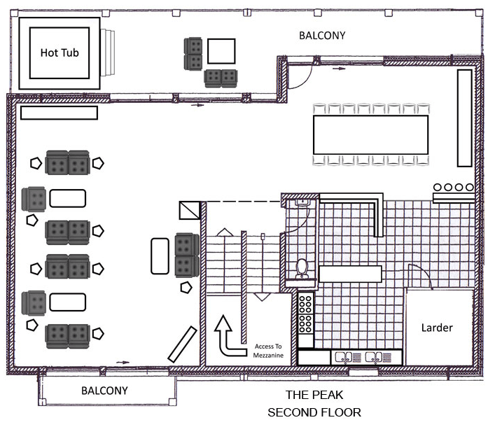 The Peak Ste-Foy-Tarentaise Floor Plan 4
