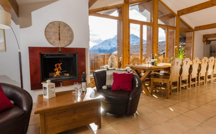 The Penthouse in La Rosiere , France image 14