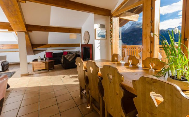 The Penthouse in La Rosiere , France image 13