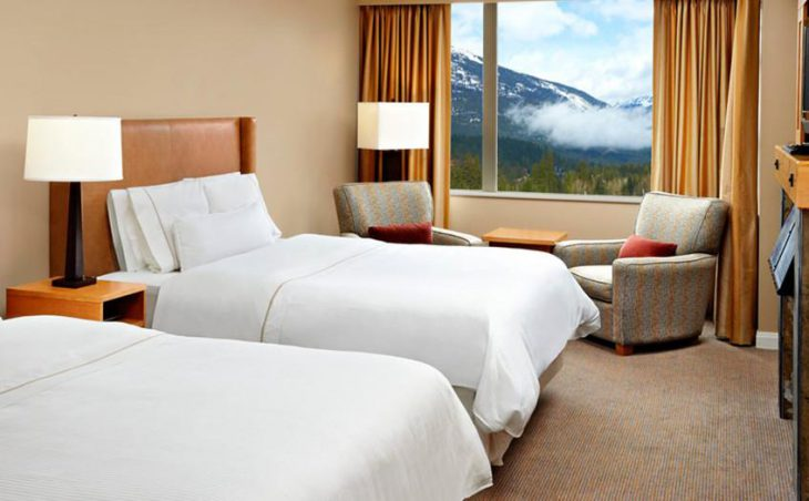 The Westin Resort & Spa, Whistler, Twin Bedroom