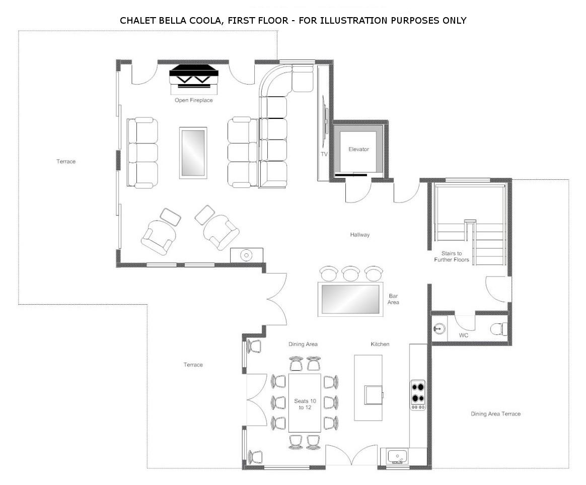 Bella Coola Estate Verbier Floor Plan 2
